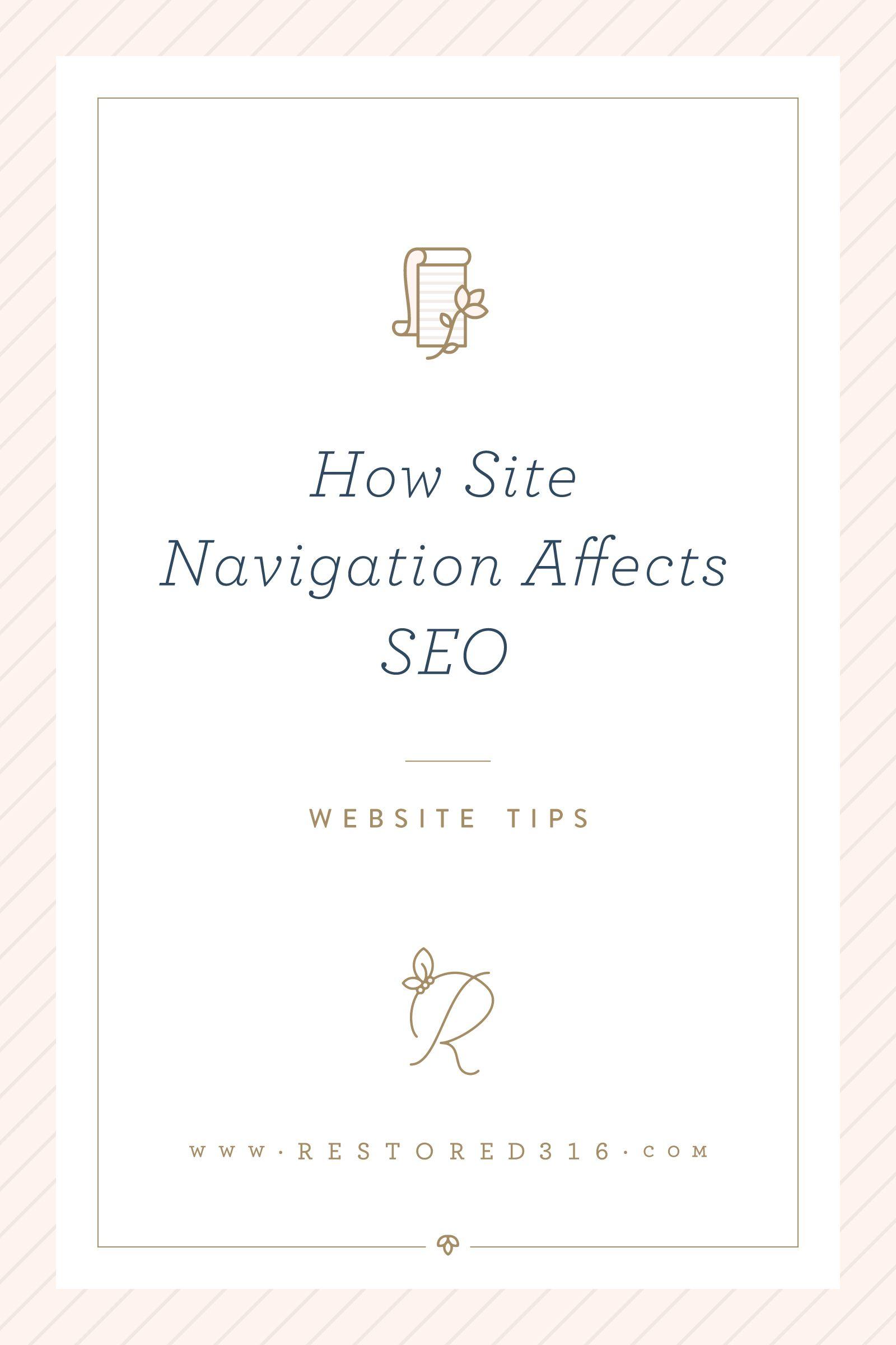 How Site Navigation Affects SEO • Restored 316 Blog