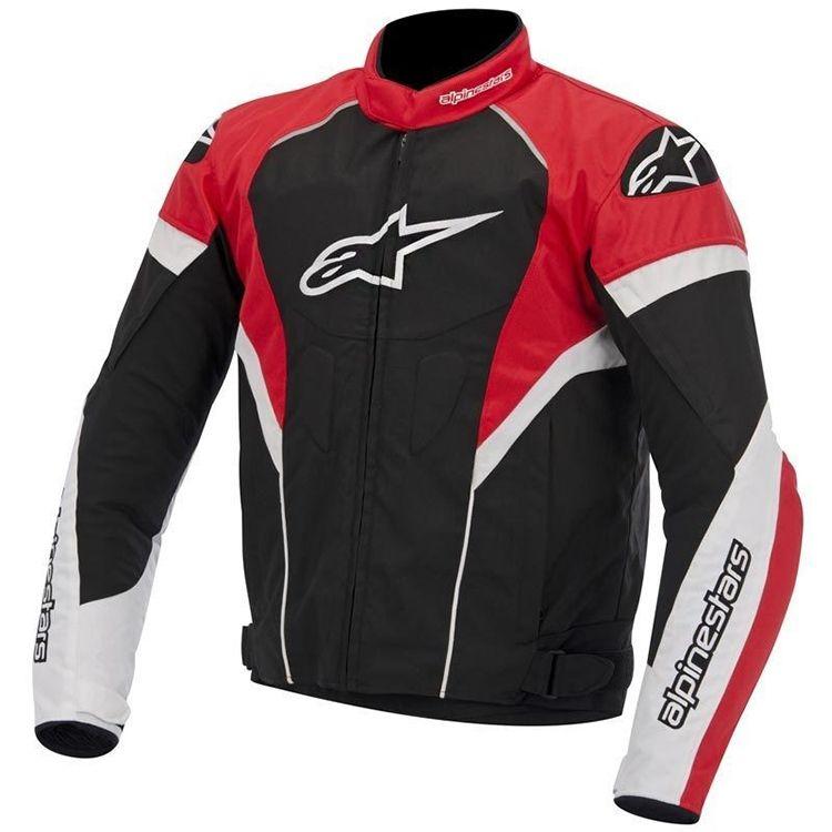 783136c92 Jaqueta Moto Alpinestars T-GP Plus R - Preta com Vermelho - Masada Moto