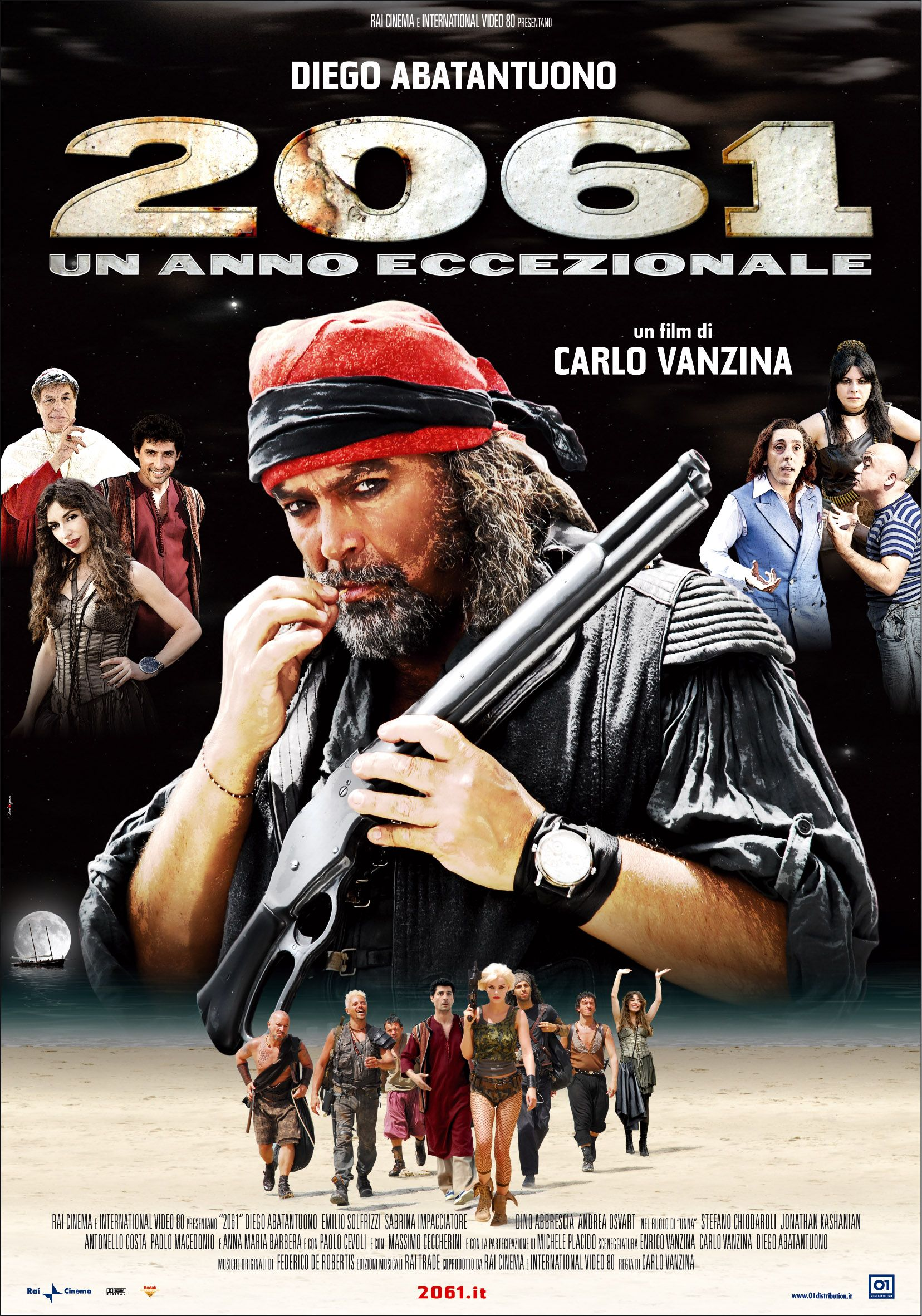 2061 Un Anno Eccezionale Carlo Vanzina 2007 Film Film Completi Poster
