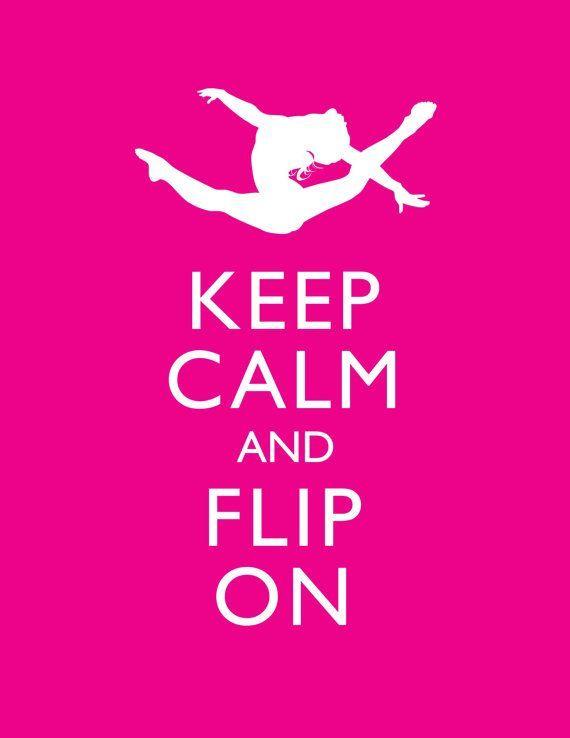 KEEP CALM AND LOVE GYMNASTICS Poster | Siham | Keep Calm-o ...  |Keep Calm Gymnastics