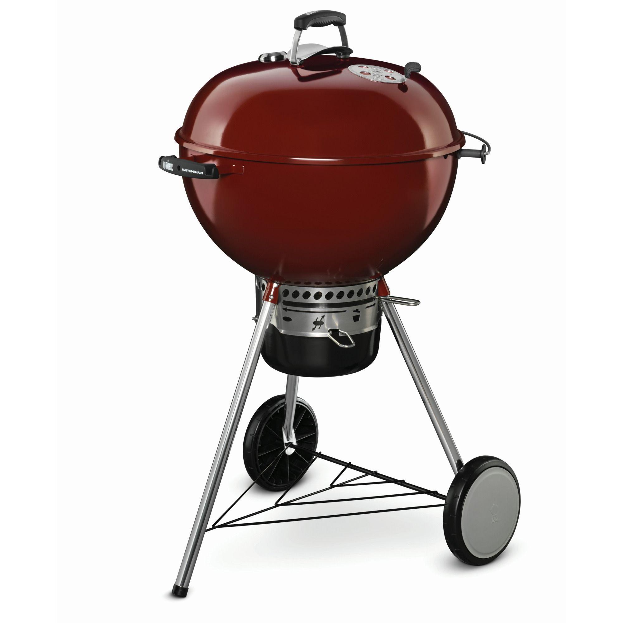 Weber Barbecue Master Touch Premium Gbs Crimson Red 57 Cm Kopen Karwei Houtskoolgrill Bbq Buitenkeukens