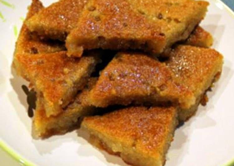 طريقة عمل حلوى الحلبة الفلسطينية بالصور من مطبخ حمودي Hamoudi Mutfagi Recipe Food Food And Drink Healthy Dessert
