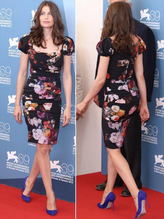 Laetitia Casta Makes Blossoming Statement in Dolce & Gabbana - Fashion Forum - StyleBistro