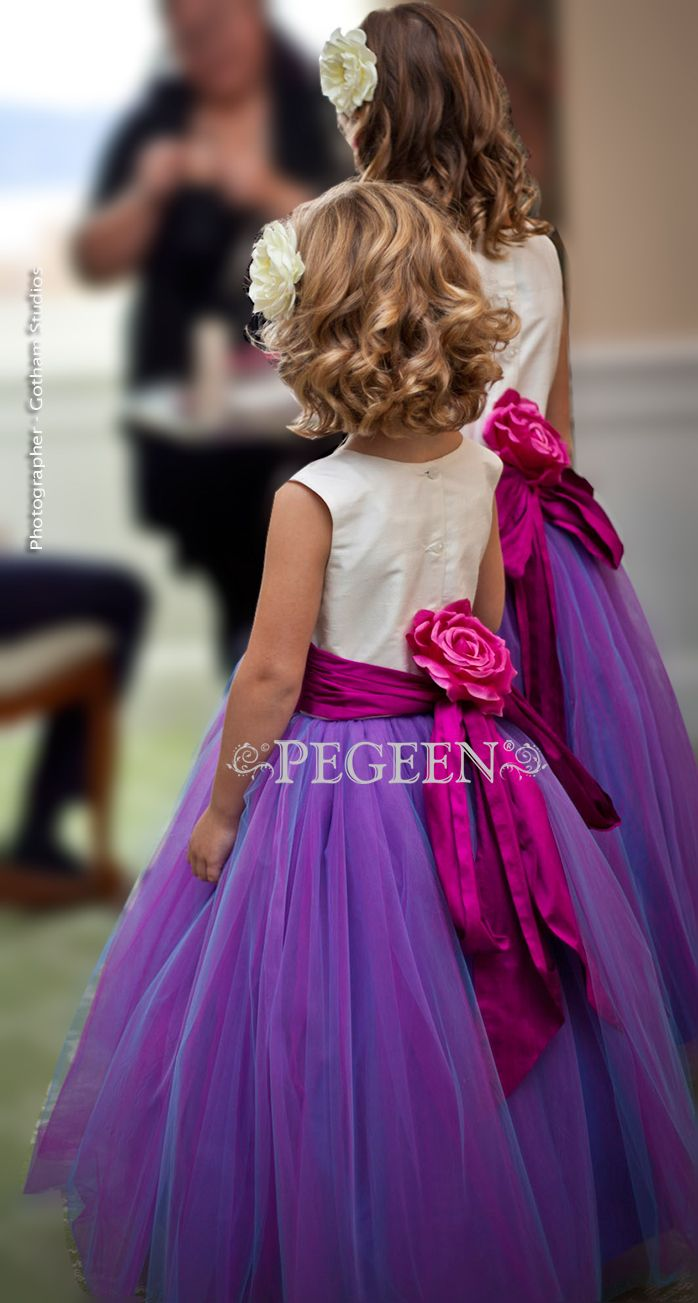 Pegeen\'s Flower Girl Dress of the Year Runner Up | niñas | Pinterest ...