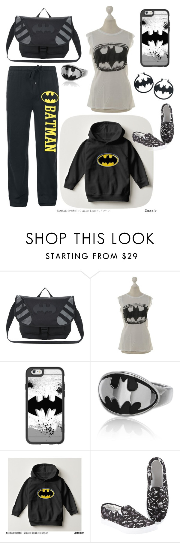 """""""Fandom-DC Comics-Batman"""" by maile-estacion ❤ liked on Polyvore featuring LAUREN MOSHI and Casetify"""