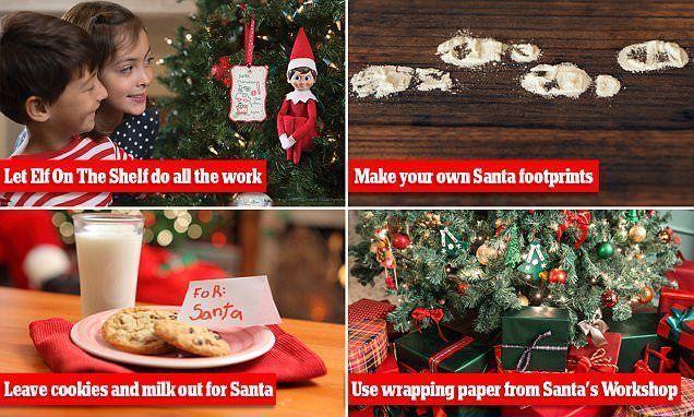 # believer #Smart #hacks #Children #Parents #Santa #santafootprintideas