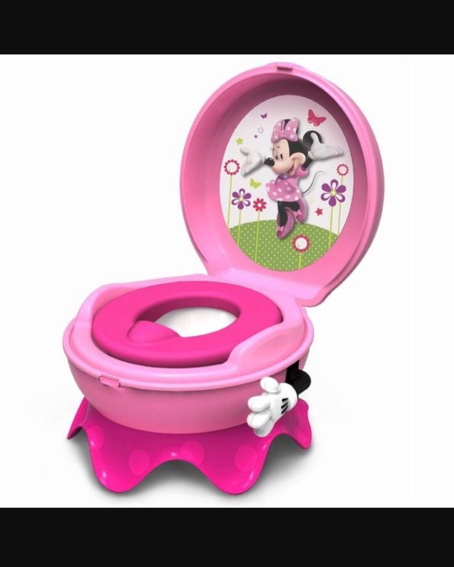 Disney Minnie MouseBowtique Travel//Folding Potty Pink