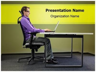 Office Ergonomics Powerpoint Template Is One Of The Best