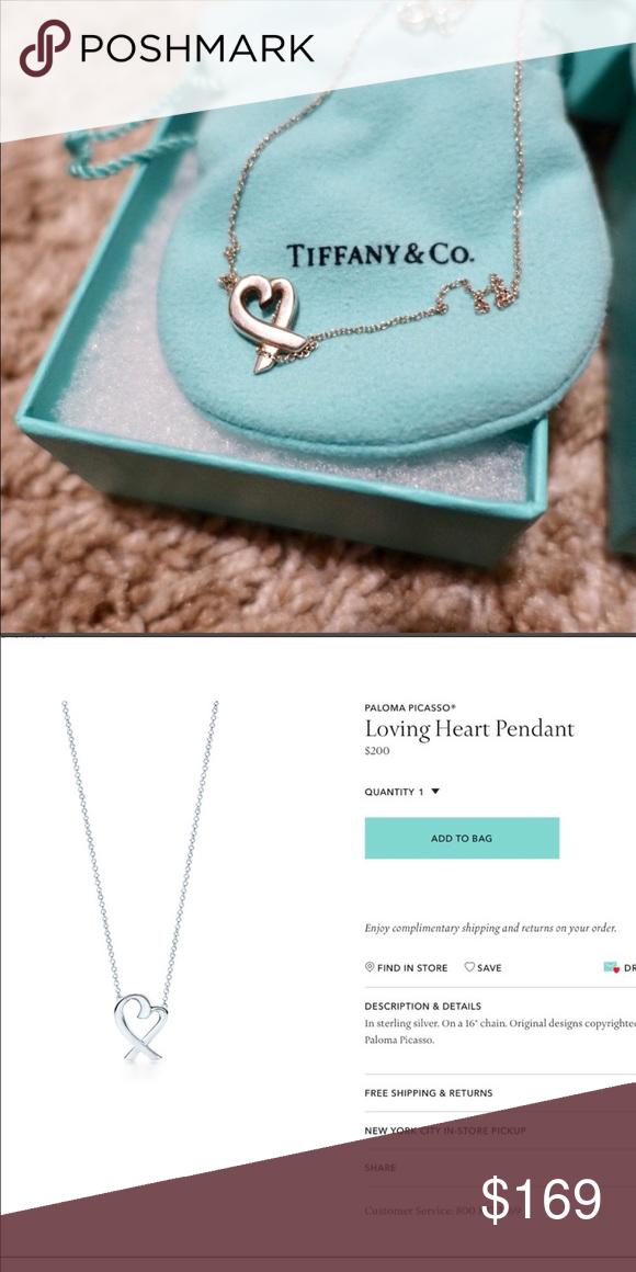 26f61f90f Tiffany Paloma Picasso Loving Heart Necklace Tiffany Paloma Picasso Loving  Heart Necklace Tiffany & Co.