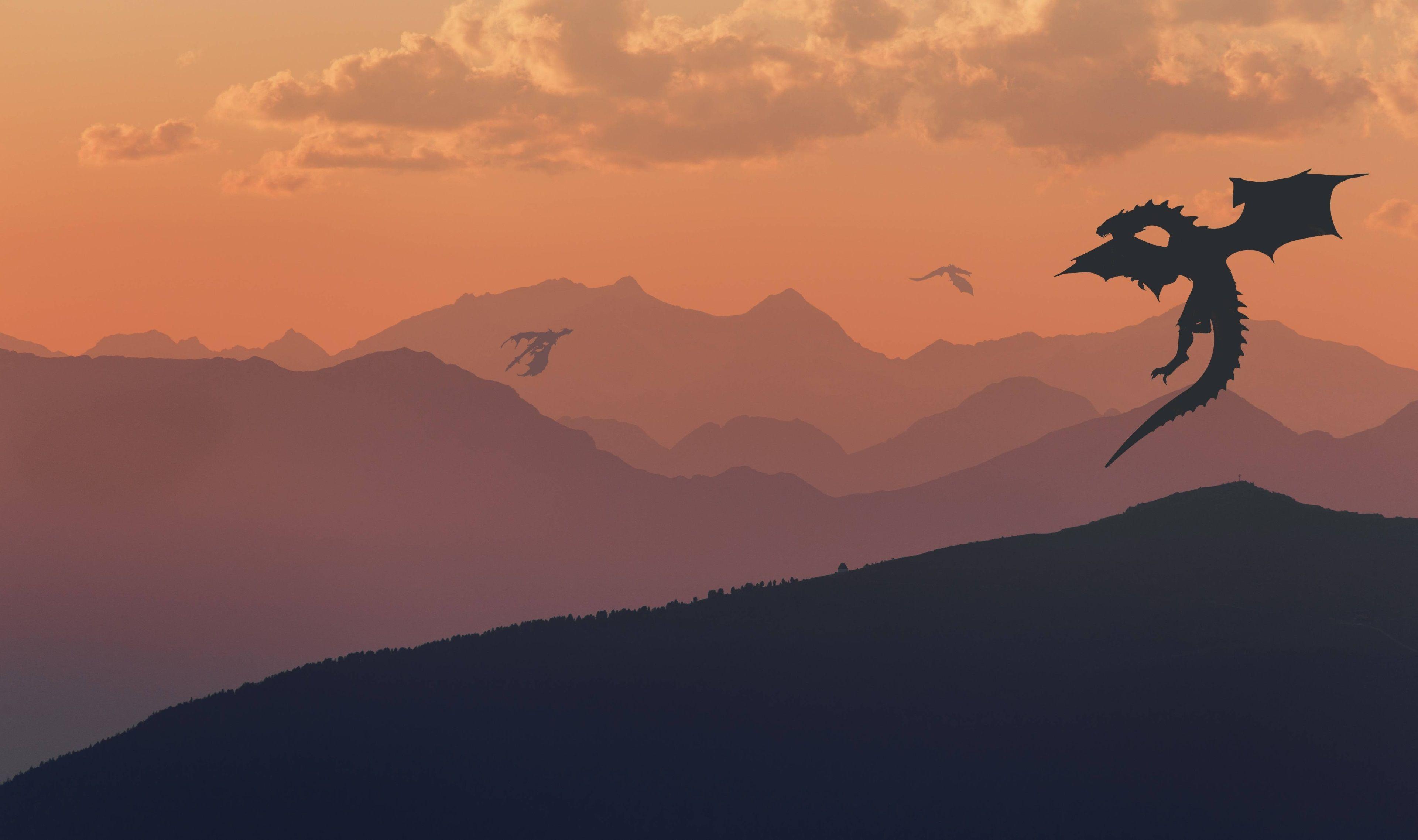 Game Of Thrones Dragons 4K Wallpaper