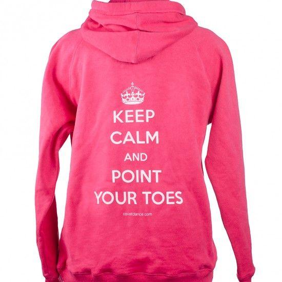 Keep Calm and Ballet Dance Dancer Dancing Kids // Childrens Hoodie