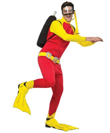 Another great find on #zulily! Scuba Guy Costume Set - Men's Regular #zulilyfinds