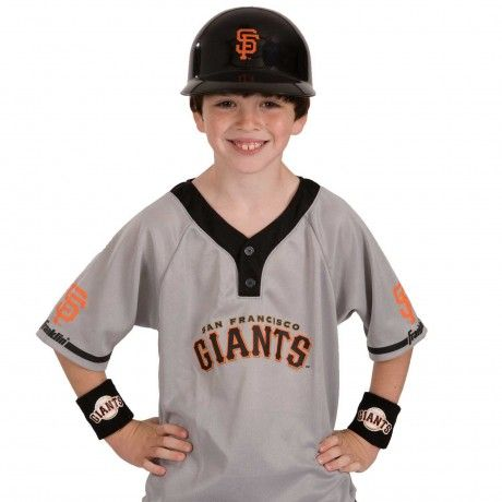Mlb Kids Team Uniform Set San Francisco Giants The Mlb Kids Team Set Includes A Team Batting Franklin Sports Mlb San Francisco Giants San Francisco Giants