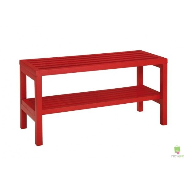 Banc Range Chaussures Rouge Stora Decor Home Decor Furniture