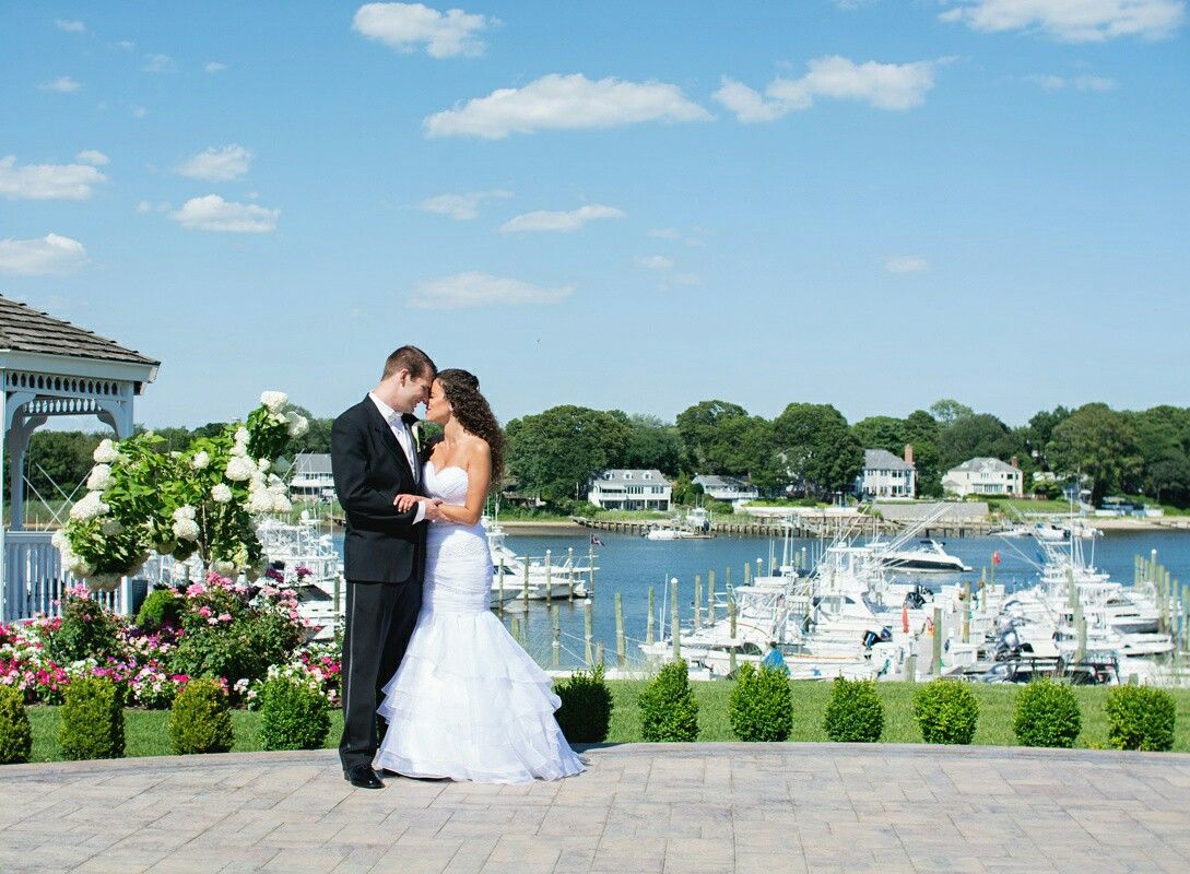 Raquel Konstantinos Crystal Point Yacht Club First Look Bridal Portraits Pleasant