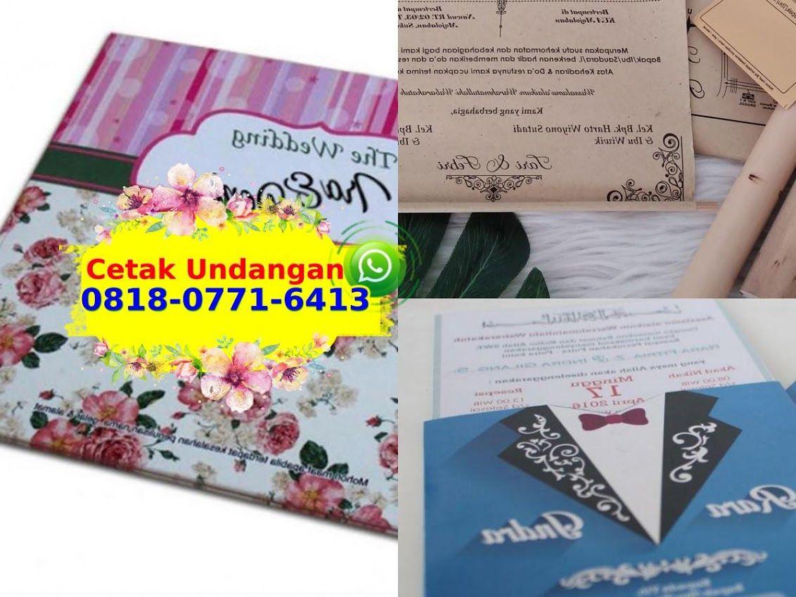 Contoh kartu undangan pernikahan terbaru contoh undangan