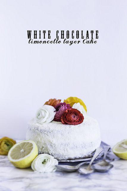 White Chocolate Limoncello Layer Cake | Marcello Arena