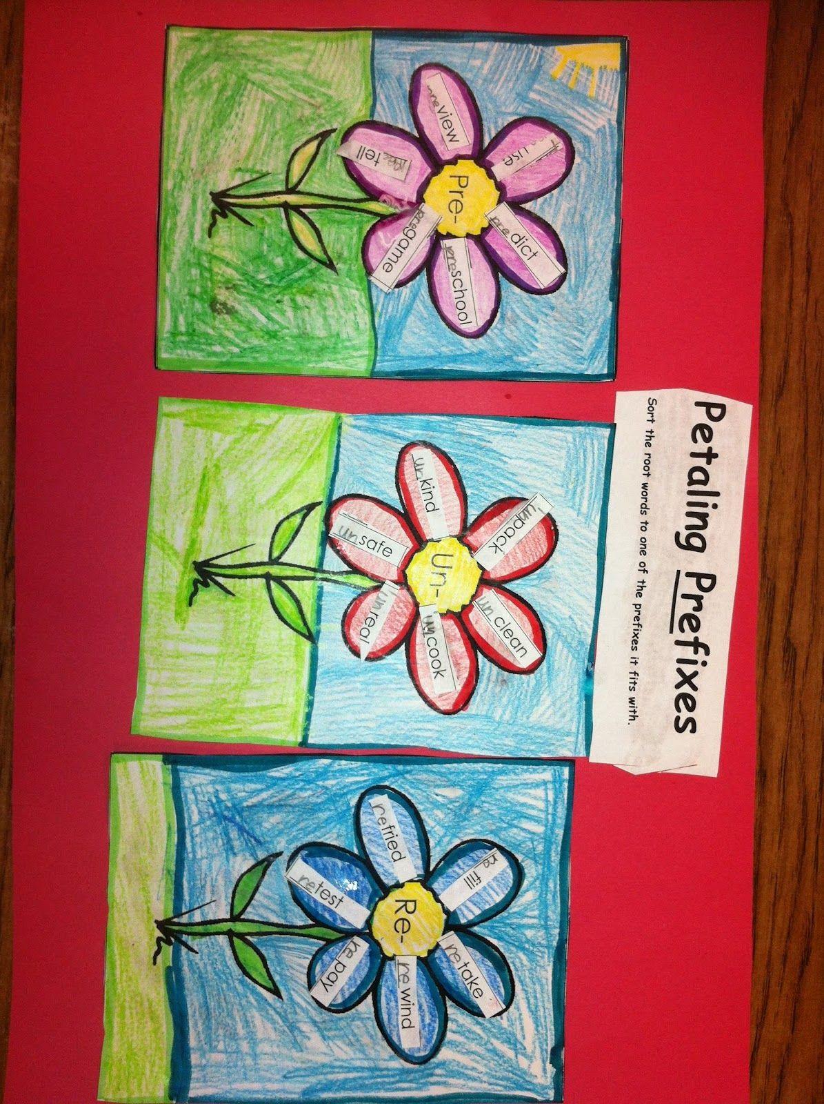 Prefix Flowers