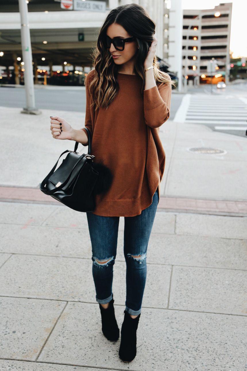 maneras para equilibrar tu outfit con unos skinny jeans