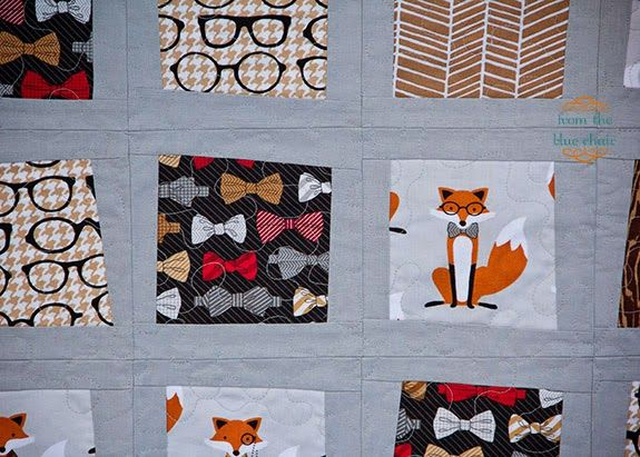 from the blue chair: The Fox Quilt