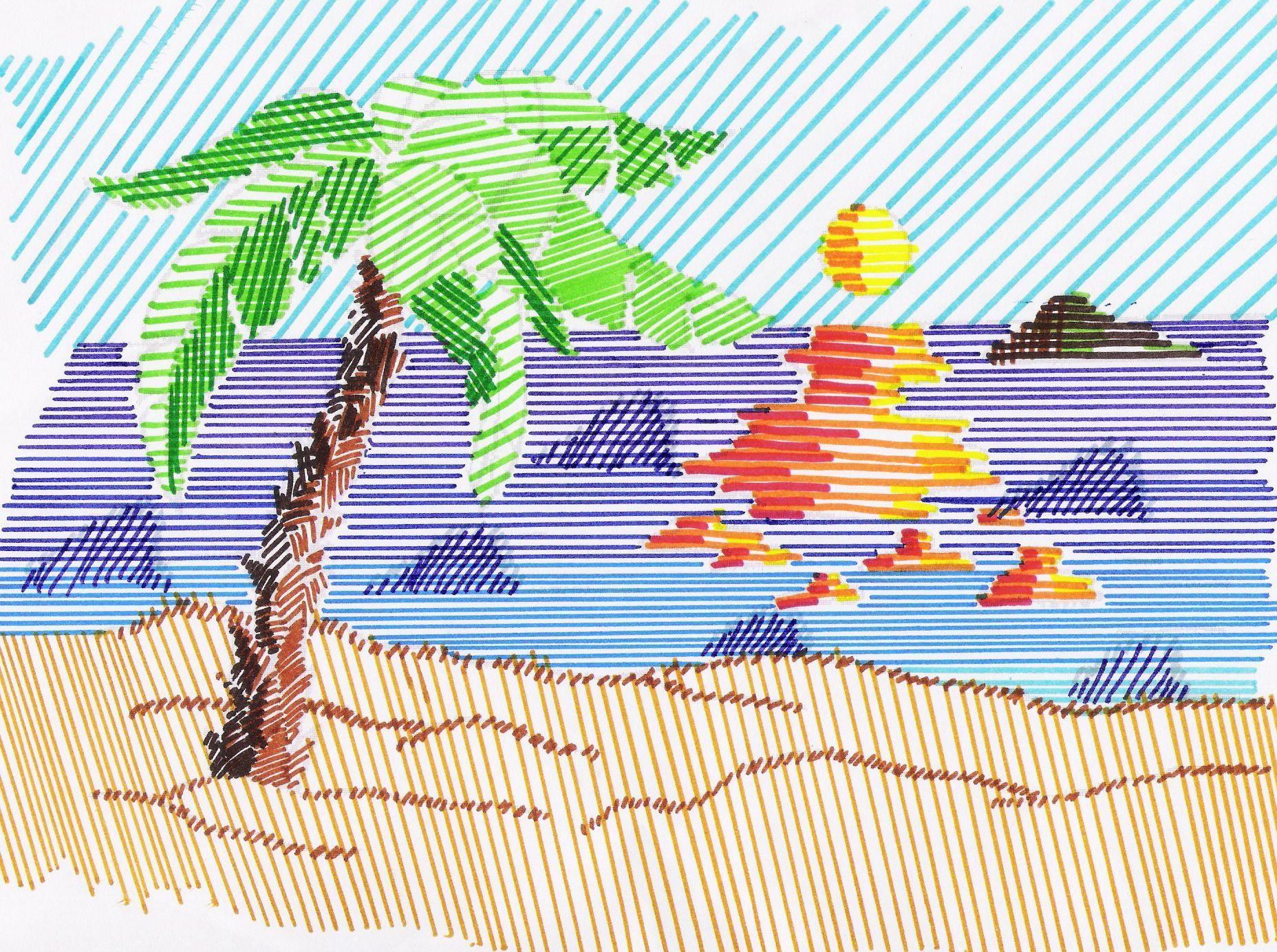 ejercicios de composicion en dibujo  Buscar con Google  LA LNEA