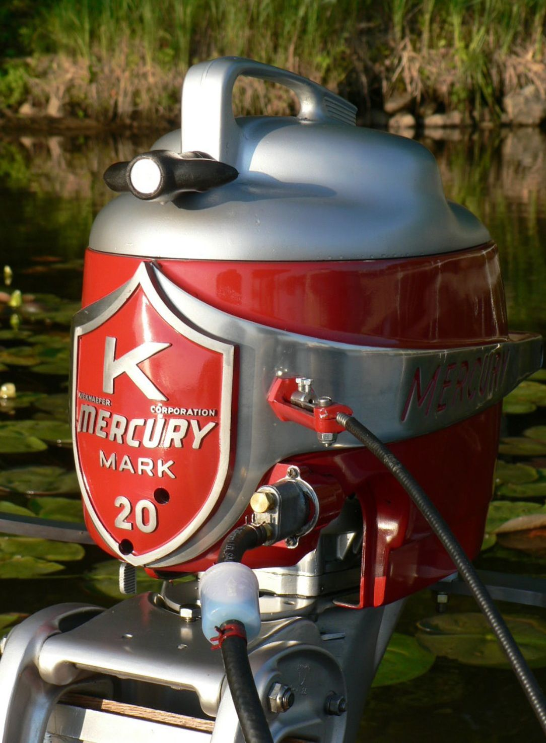 Mercury mark 20 outboard motor outboard pinterest for Vintage mercury outboard motors