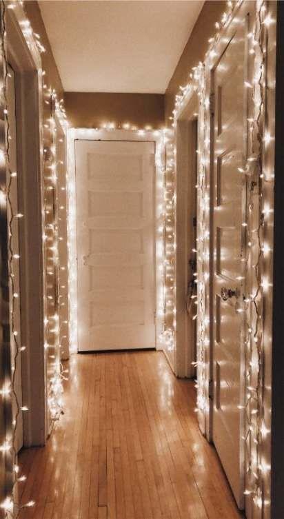 Photo of Hausdekor Weihnachtslichterketten 41 Ideen
