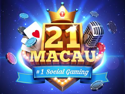 Social Casino Logo Game Logo Design Game Logo Casino Logo
