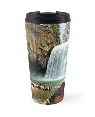 'Rainbow Falls 2' Travel Mug by Joe Lach #rainbowfalls
