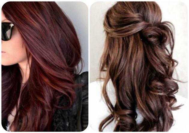 rouge bordeaux cheveux Recherche Google Cheveux