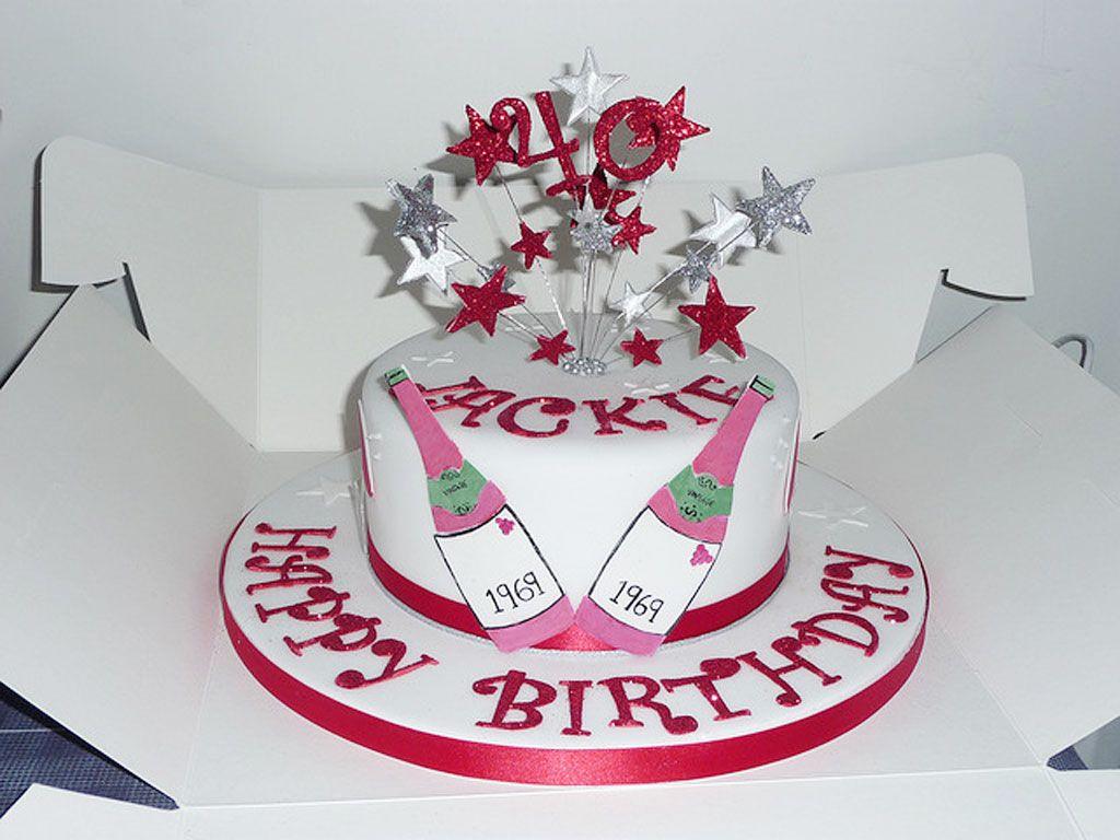 40thwomenbirthdaycakes Holiday Ideas Pinterest Woman