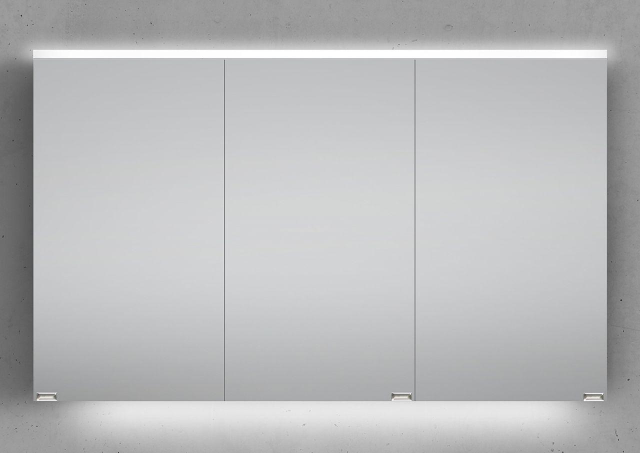 Badezimmerschrank beleuchtung ~ Spiegelschrank cm integrierte led beleuchtung doppelt