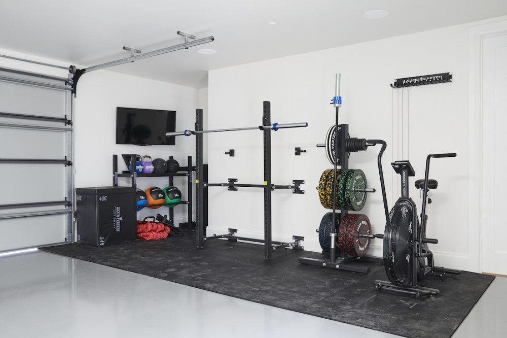 The Block 2020 Week 11 Studio And Garage Reveal Style Curator In 2021 Gym Room At Home Home Gym Decor Home Gym Garage