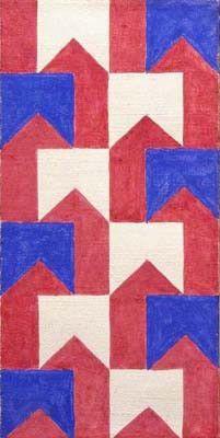Pinturas De Alfredo Volpi Arte Geometrica Arte Moderna