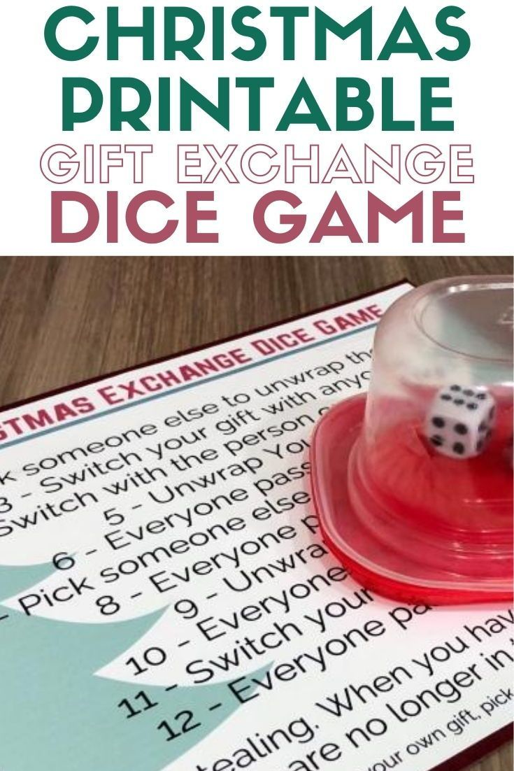 Christmas Dice Game lifestyle The Crafty Blog Stalker