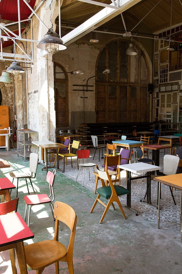 La recyclerie - 83 boulevard Ornano, 75018 Paris | espacio | Pinterest