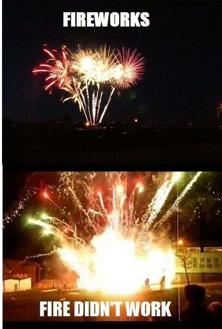 Fireworks Funny fireworks, Funny pictures, Fireworks