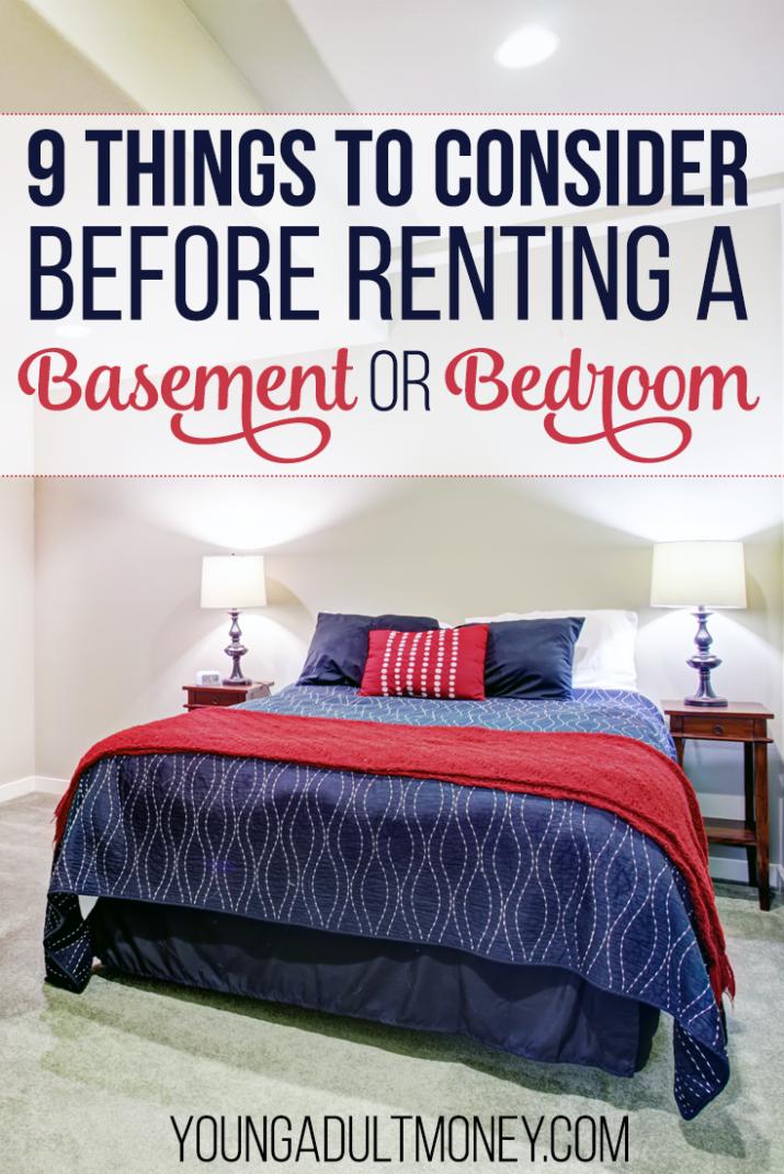 Photo of 9 Dinge, die Sie vor der Anmietung eines Kellers oder Schlafzimmers beachten sollten