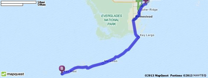 key west florida mapquest