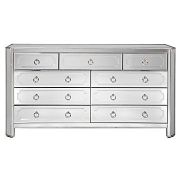 Trying To Pick Which Mirrored Furniture, Z Gallerie Mirrored Dresser
