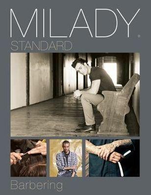 Milady Standard Barbering Edition 6 Hardcover Workbook Exam Barber