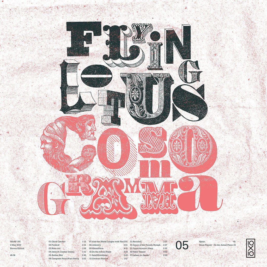 05ing Lotus Cosmogramma Prints Pinterest Typography And
