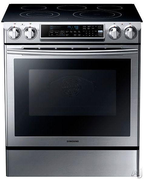Samsung Ne58f9500ss Slide In Range Stainless Steel Oven Self Cleaning Ovens