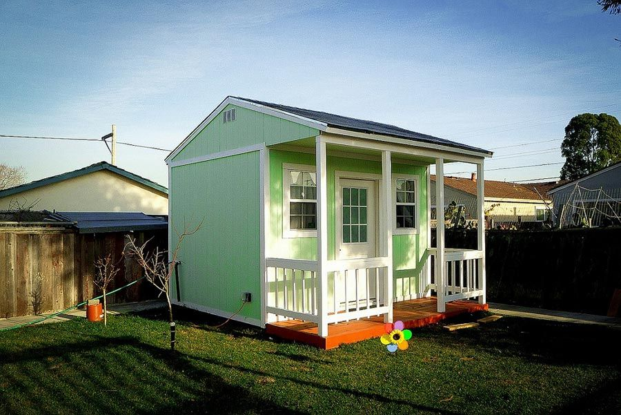 backyard-tiny-house (that looks like one of the storage shed conversions) - Backyard-tiny-house (that Looks Like One Of The Storage Shed