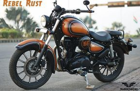 Royal Enfield Classic 350 Rebel Rust By Vardenchi My Fev Bike