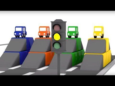 Lehrreicher Zeichentrickfilm Die 4 Kleinen Autos Das Autorennen