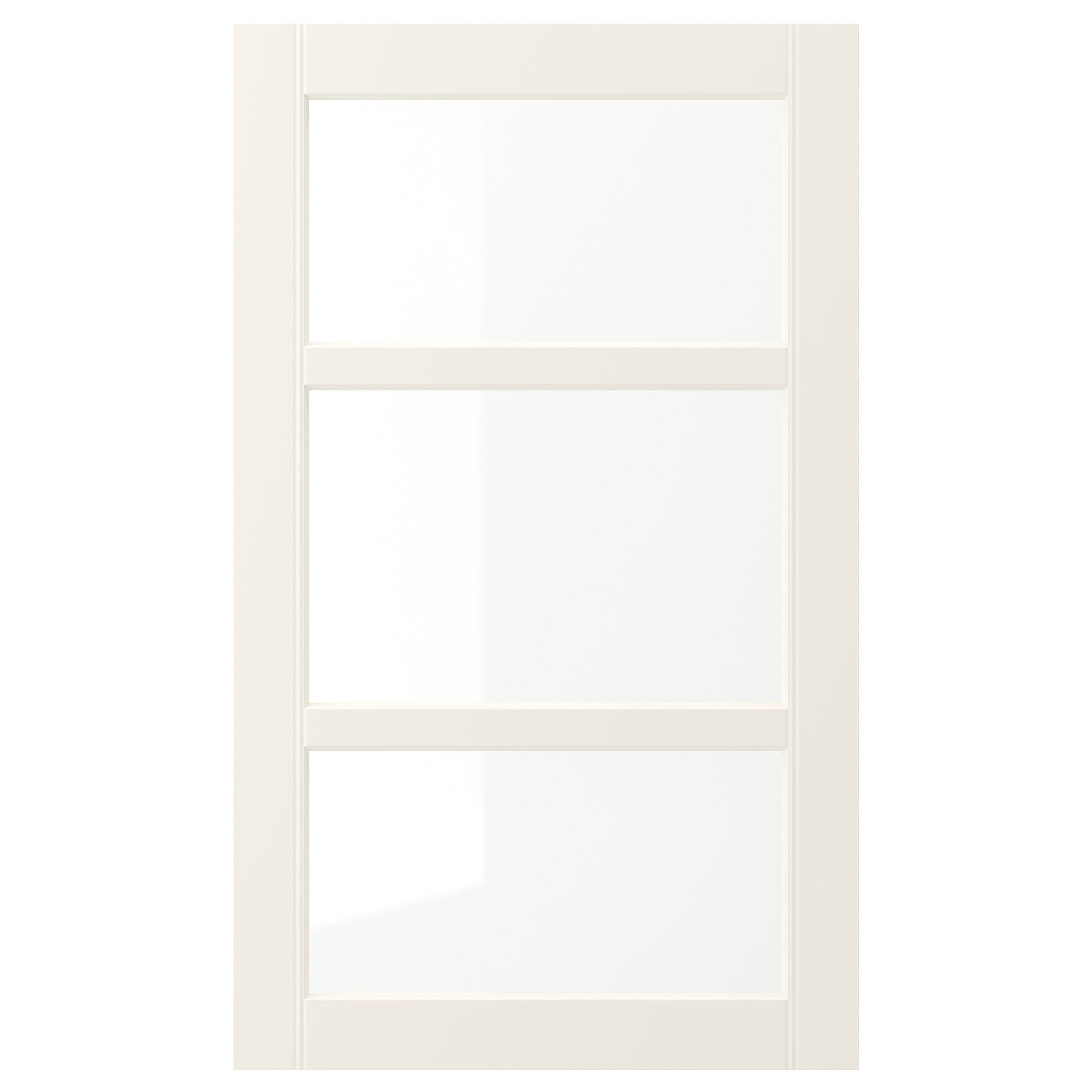 Hittarp Glass Door Off White 18x30 Glass Door Ikea Keep It Cleaner