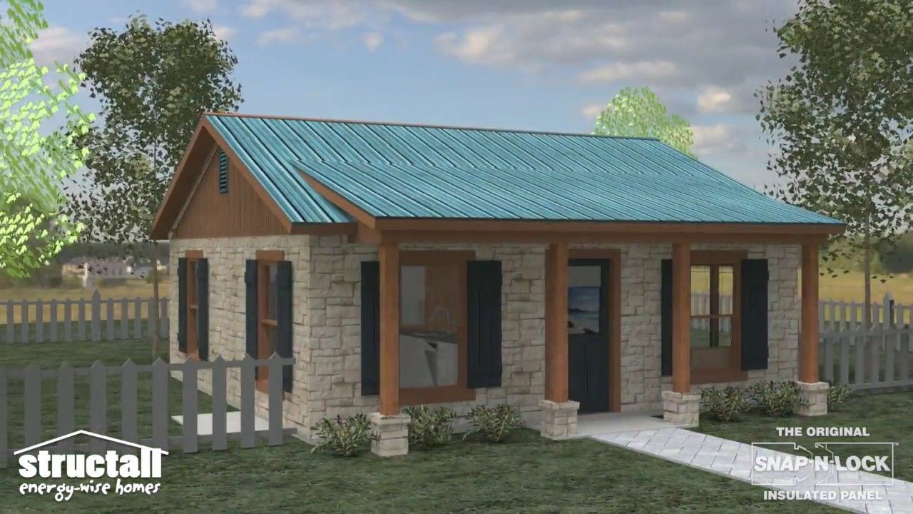 Structall Steel SIP Homes