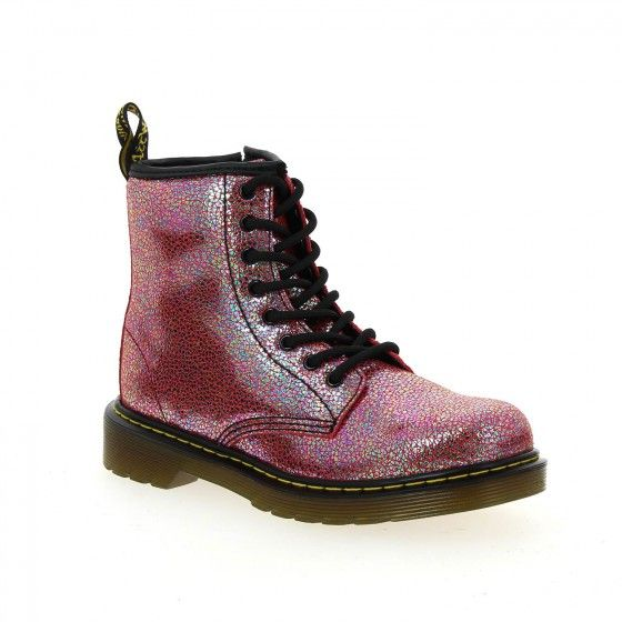 Chaussures Dr. Martens Delaney roses garçon BwERoyj7V