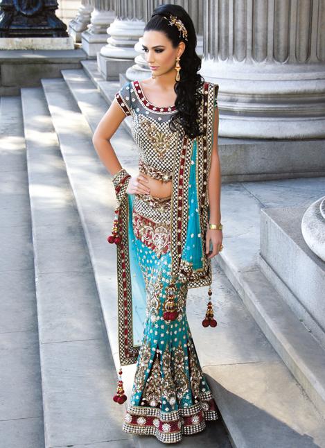 beautiful bridal lengha | Radhika creation | Pinterest | India, Boda ...